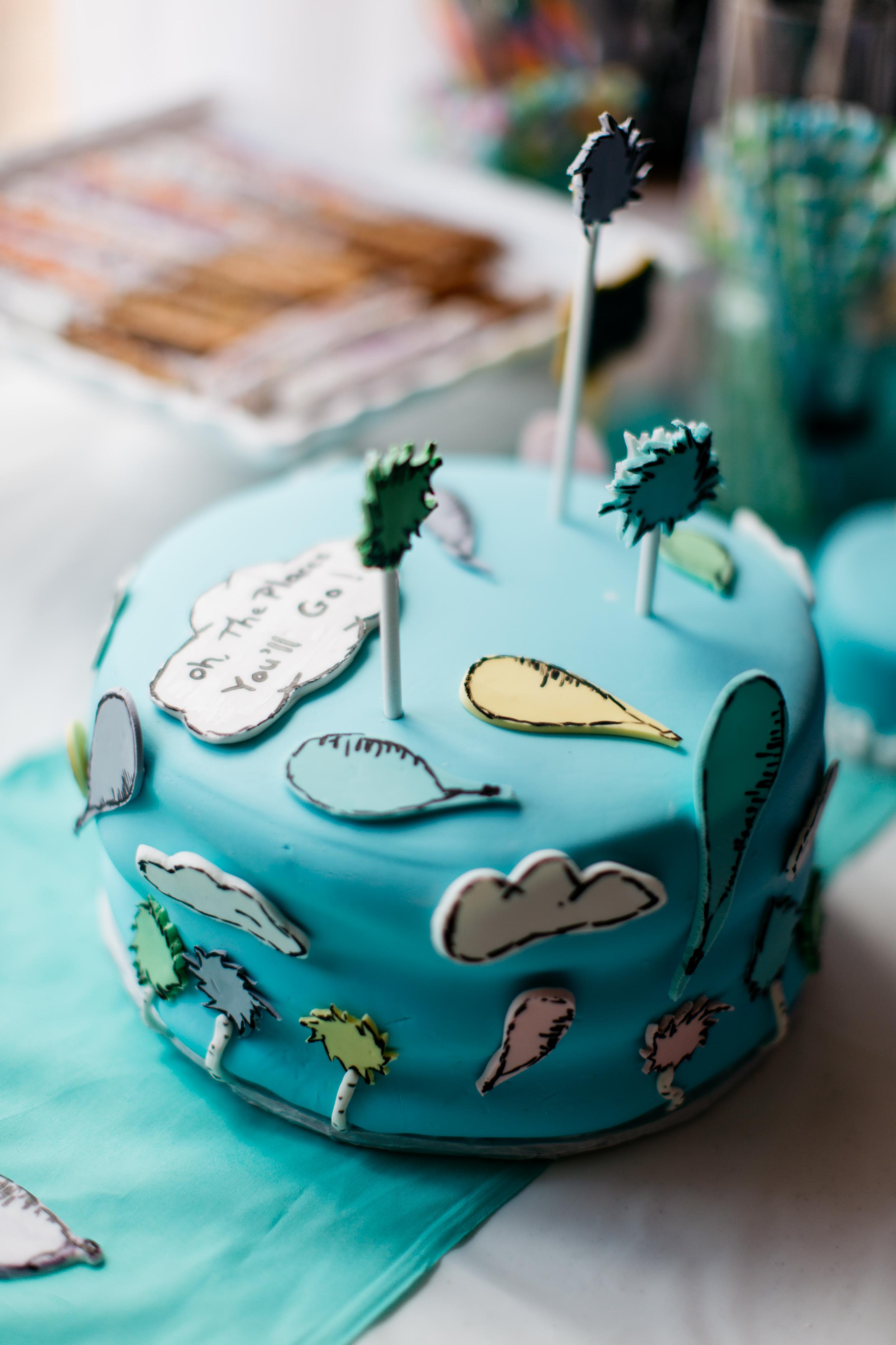 Swell Oh The Places Youll Go A Dr Seuss Birthday Party Funny Birthday Cards Online Alyptdamsfinfo