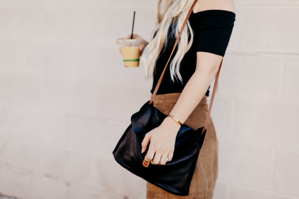 Fall Fashion Black and Suede