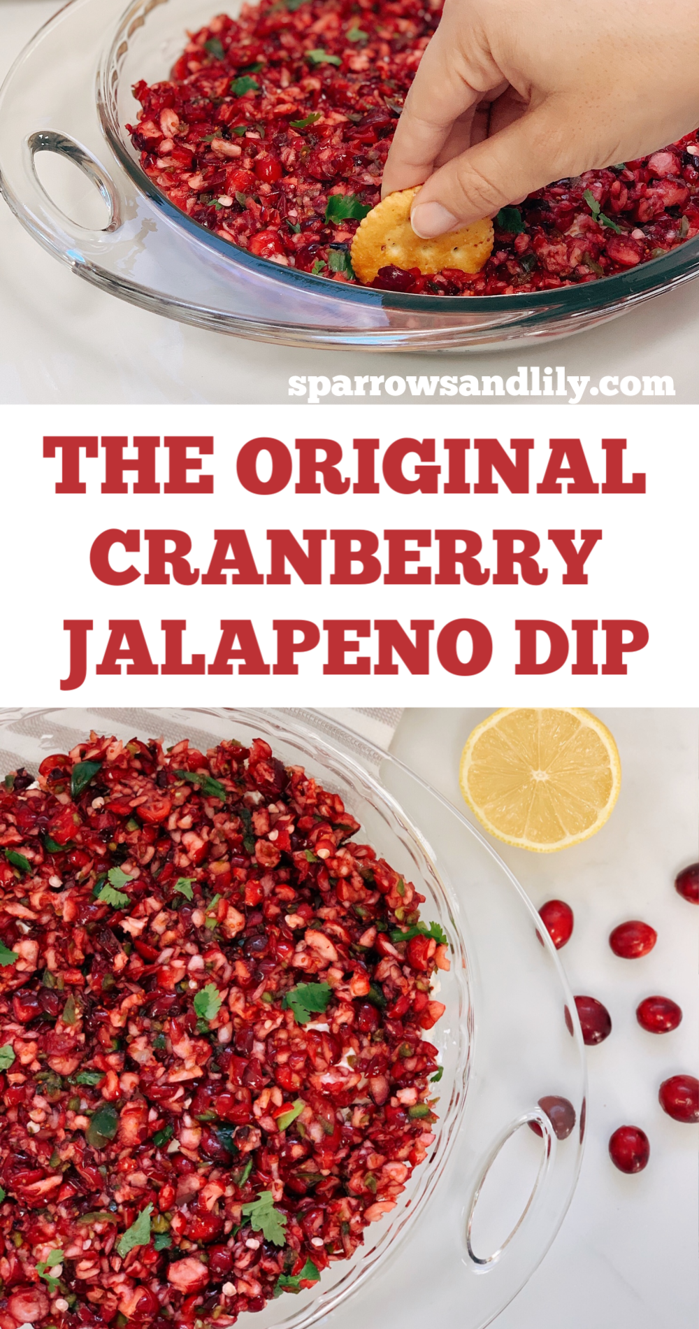 cranberry salsa, cranberry jalapeno dip, cranberry cream cheese dip, thanksgiving appetizer, christmas appetizer