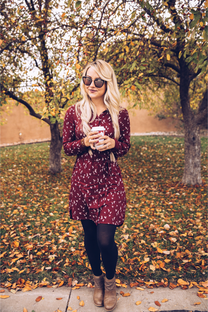 7 Of Our Favorite Wine-Colored Dresses this Fall