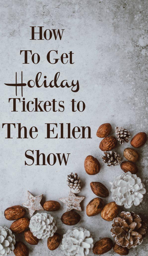 the ellen show tickets to ellen tickets for ellen ellen tickets 12 days of giveaways how to get tickets to ellen degeneres