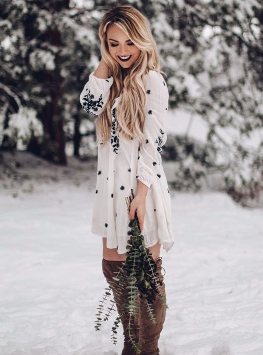 Floral + Flowy + Free People Dress: Shop This Look
