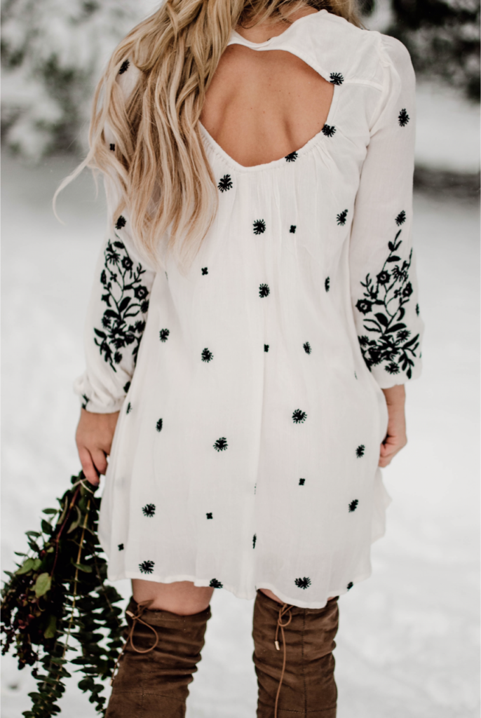 floral dress free people