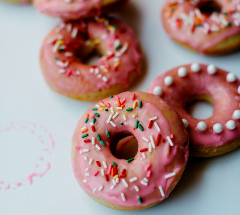 Best Ever Baked Donut Recipe with Vanilla Icing