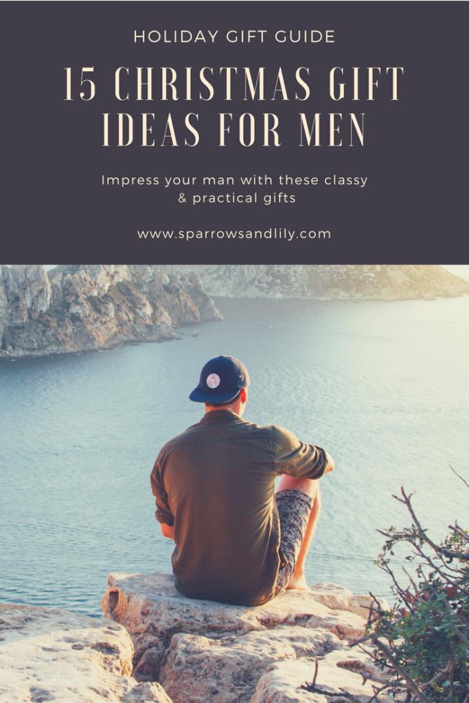 christmas gift ideas for men, men gift guide