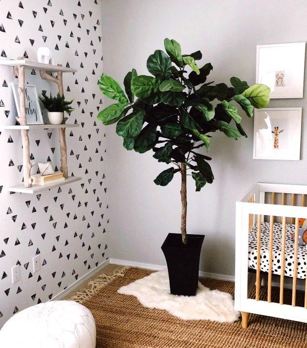 Baby Saxon Finn's Modern Nursery