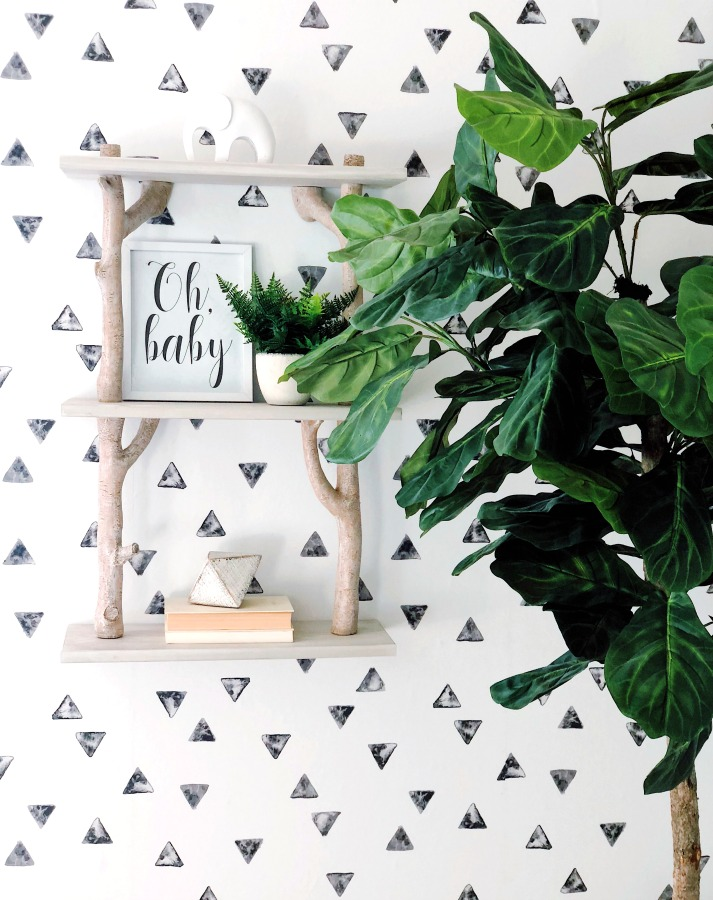 modern nursery gender neutral classic nursery baby boy baby girl room animal theme pottery barn midcentury crib fiddle leaf fig animal prints