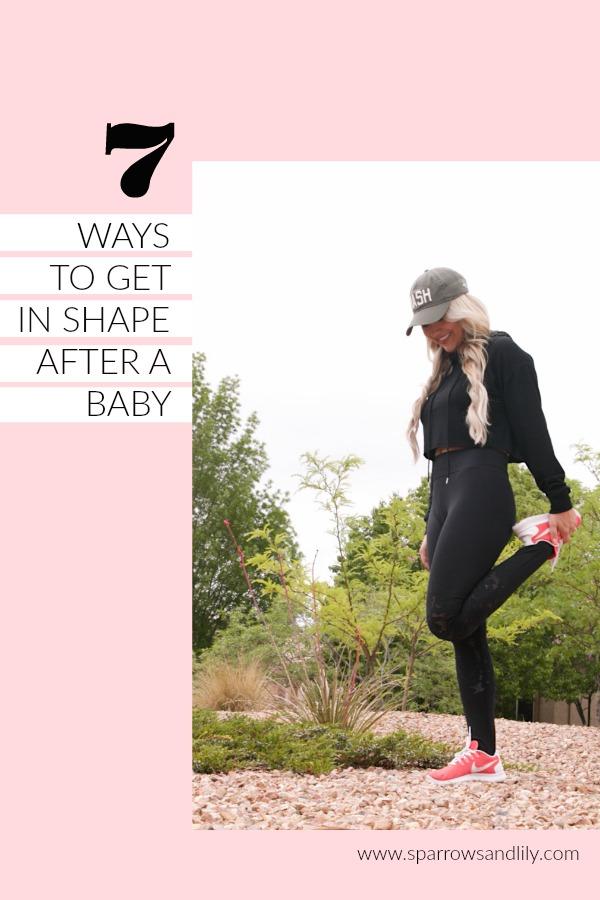 fitness new mom fit mom postpartum health