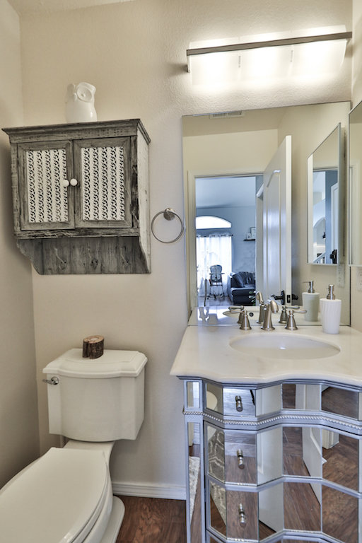 mirrored vanity home decor house tour home design house design nursery new build home build target rugs wood floor vinyl floors