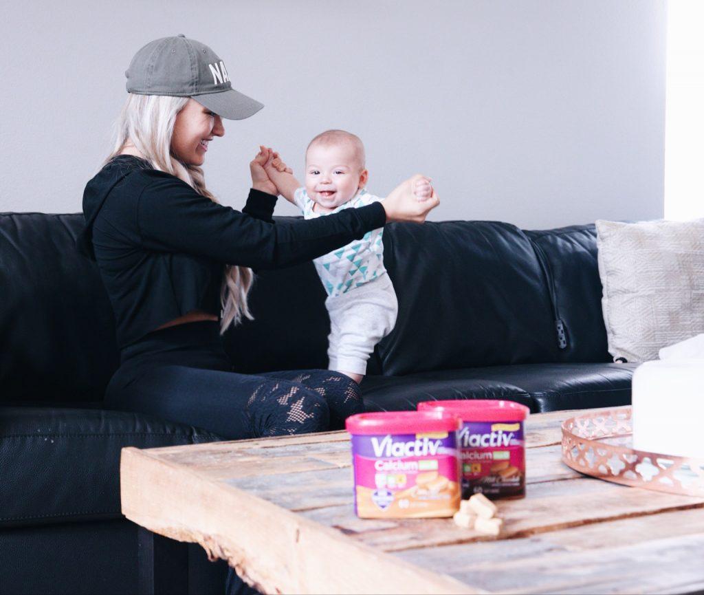 viactiv postpartum fitness pregnancy health newborn mom fit mom fit life