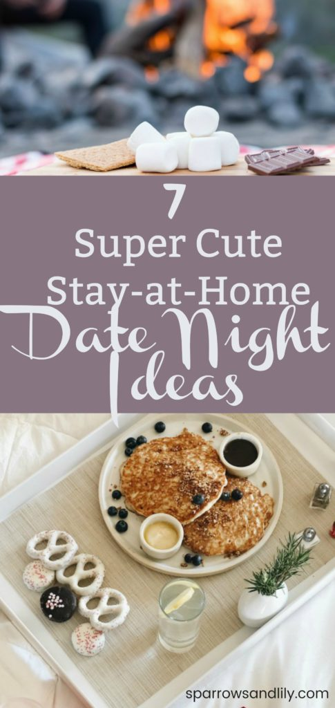 7 creative stay at home date night ideas