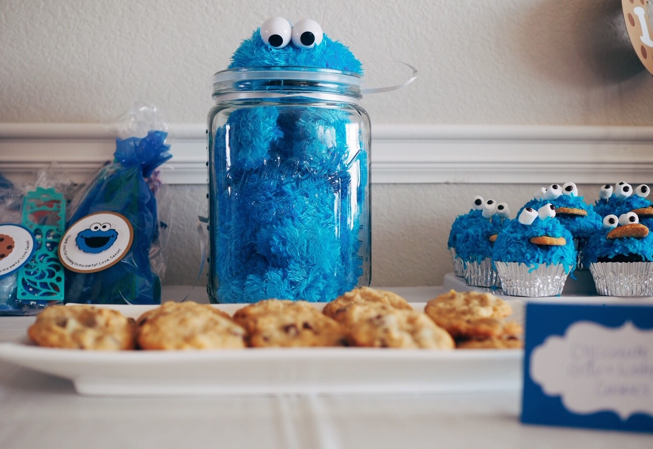 cookie monster birthday 6