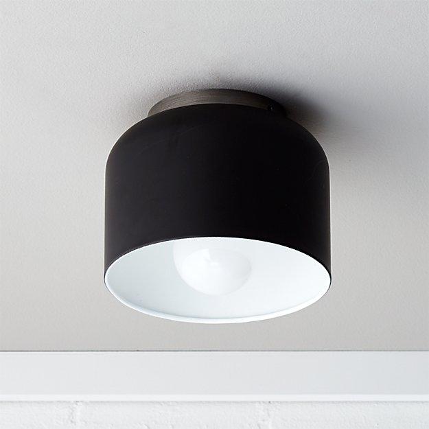 bathroom light, ceiling light, flush mount, semi flush mount, cb2 lights