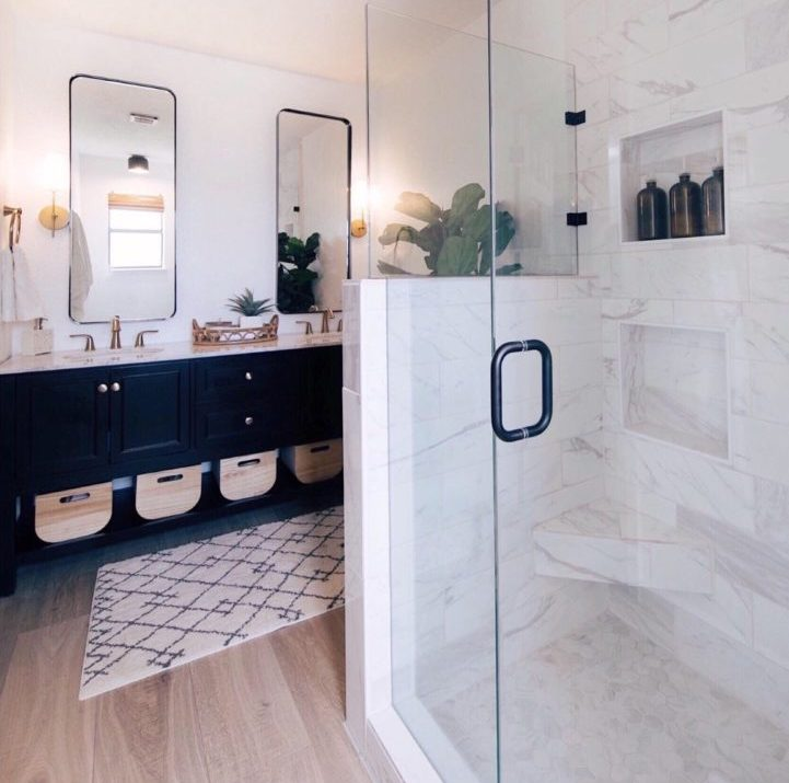 Modern Master Bathroom Reveal