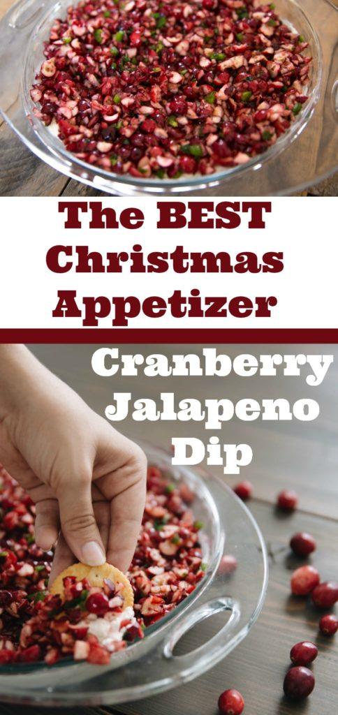 christmas appetizer, thanksgiving appetizer, cranberry dip, cranberry recipes, cranberry jalapeno dip