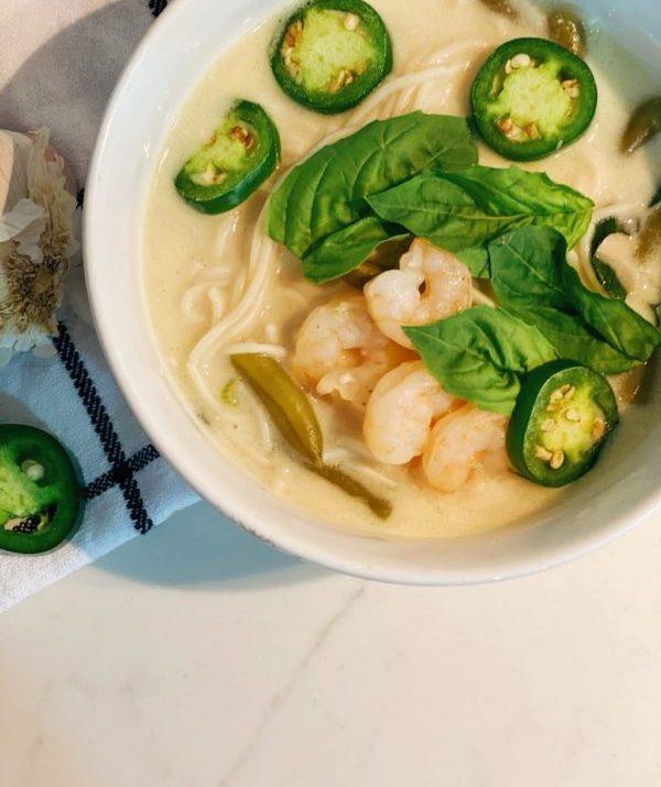 Lindsey's Easy Thai Noodle Soup