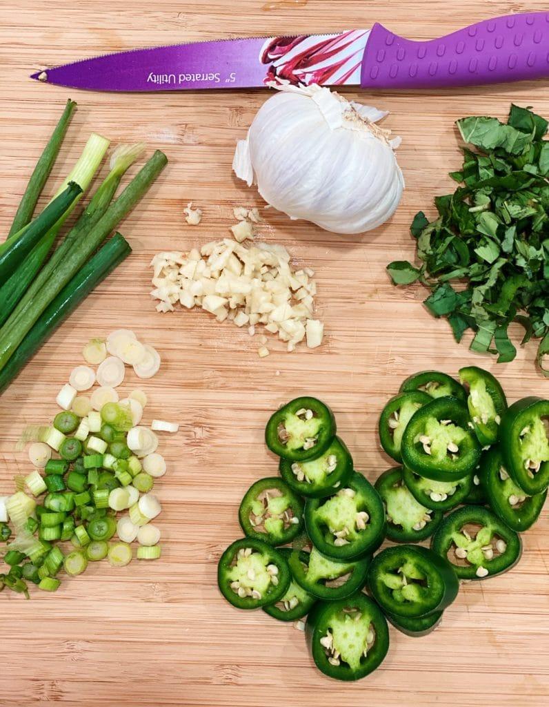thai noodle soup, basil soup, asian soup, thai soup, curry soup