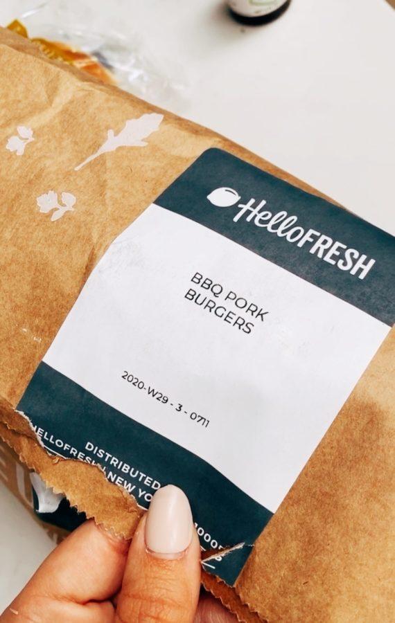 hellofresh pork burgers