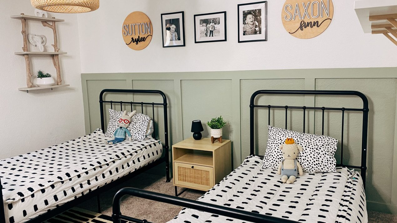 Shared Boy's Bedroom Design and Renovation