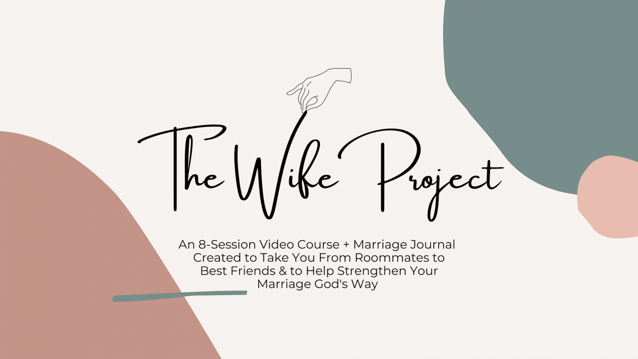 THE WIFE PROJECT IS FINALLY HERE!!: Becoming a Godly Wife