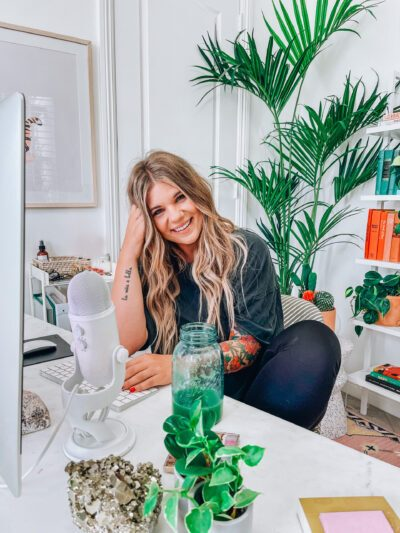 78 | How to Declutter Your Home (and Mind) When You're Overwhelmed By Too Much Stuff: A Q&A with Allie Casazza